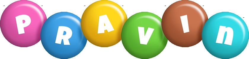 Pravin candy logo