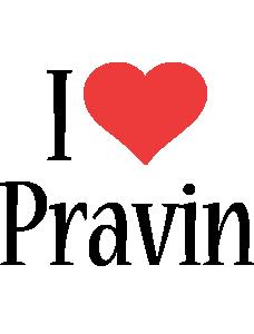 Pravin i-love logo