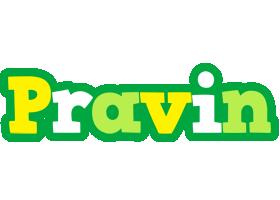 Pravin soccer logo