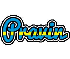 Pravin sweden logo
