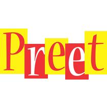 Preet errors logo