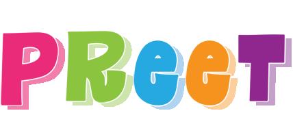 Preet friday logo