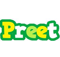 Preet soccer logo