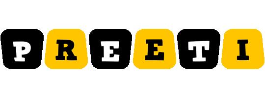Preeti boots logo