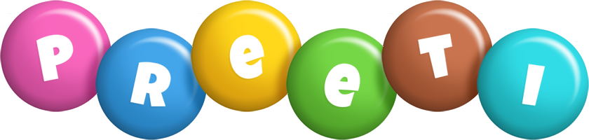 Preeti candy logo