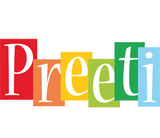 Preeti colors logo