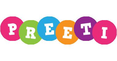 Preeti friends logo