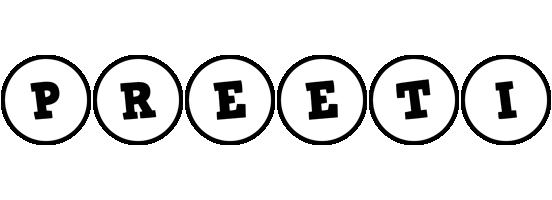 Preeti handy logo