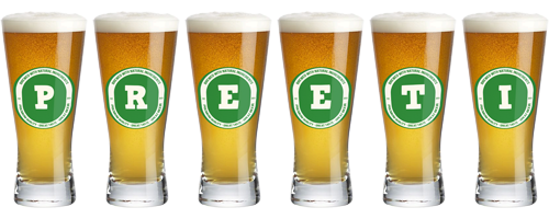 Preeti lager logo