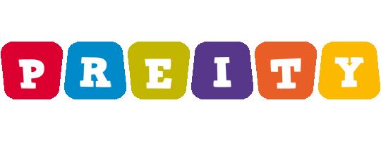 Preity kiddo logo