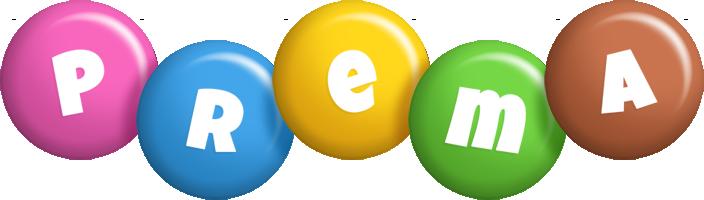 Prema candy logo