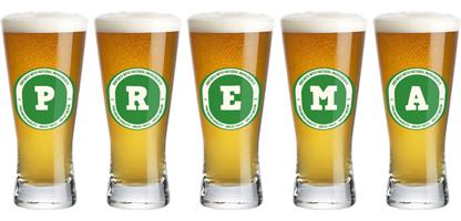 Prema lager logo