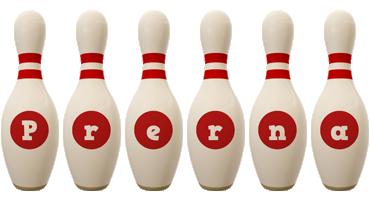 Prerna bowling-pin logo