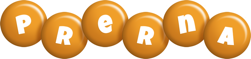 Prerna candy-orange logo