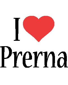 Prerna i-love logo