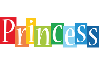 Princess colors logo