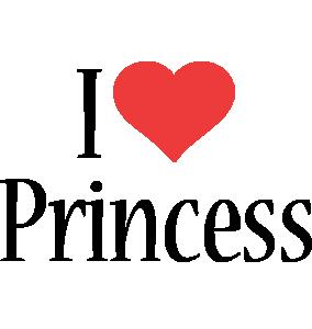 Princess i-love logo
