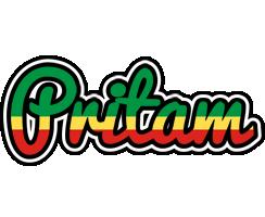 Pritam african logo