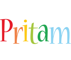 Pritam birthday logo