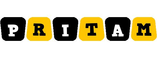 Pritam boots logo