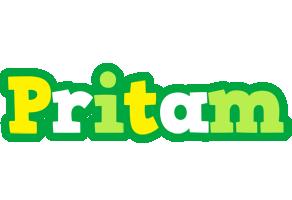 Pritam soccer logo