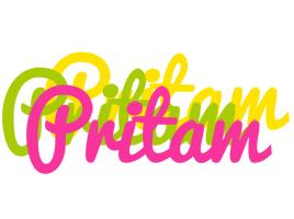 Pritam sweets logo