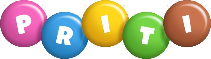 Priti candy logo