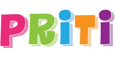 Priti friday logo