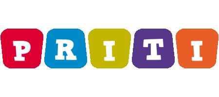 Priti kiddo logo