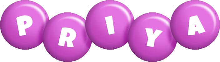Priya candy-purple logo