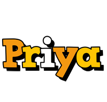 Priya cartoon logo
