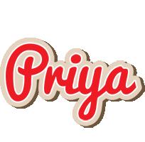 Priya chocolate logo