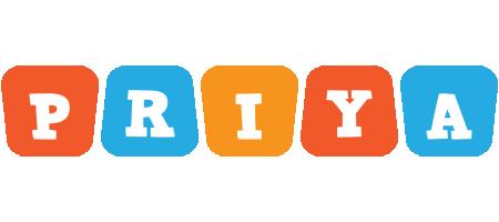 Priya comics logo