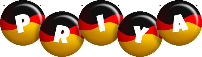 Priya german logo