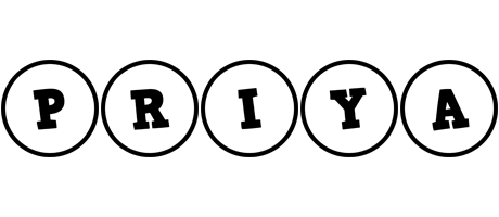 Priya handy logo