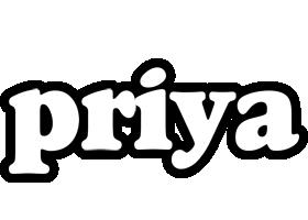 Priya panda logo