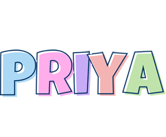 Priya pastel logo