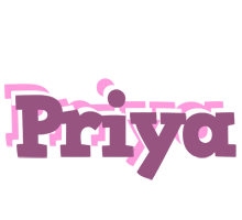 Priya relaxing logo