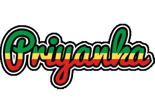 Priyanka african logo