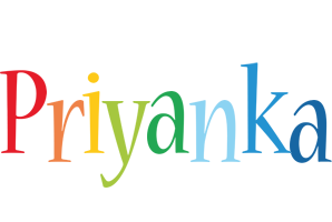 Priyanka birthday logo