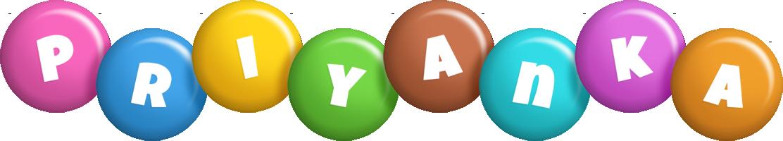 Priyanka candy logo