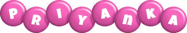 Priyanka candy-pink logo