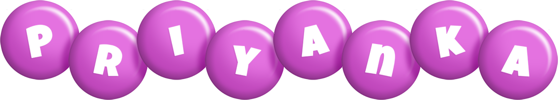 Priyanka candy-purple logo