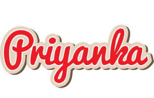 Priyanka chocolate logo