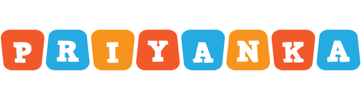 Priyanka comics logo