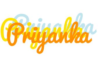 Priyanka energy logo