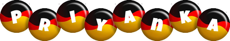 Priyanka german logo