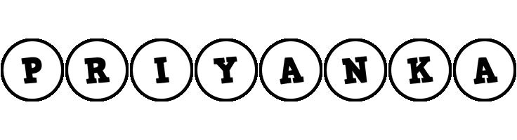 Priyanka handy logo