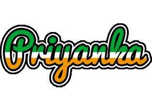 Priyanka ireland logo