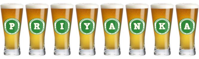 Priyanka lager logo